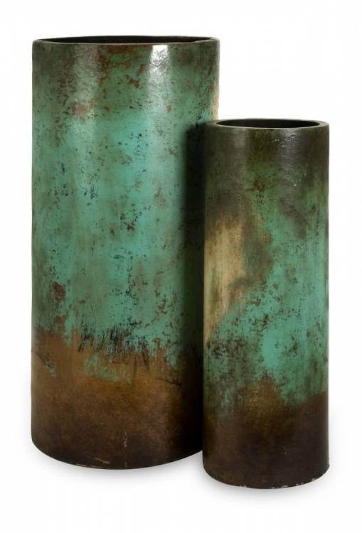 Mazatlan Floor Vases - Set of 2 - IMAX