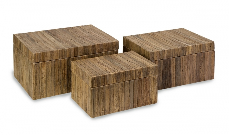 Havana Storage Boxes - Set of 3 - IMAX