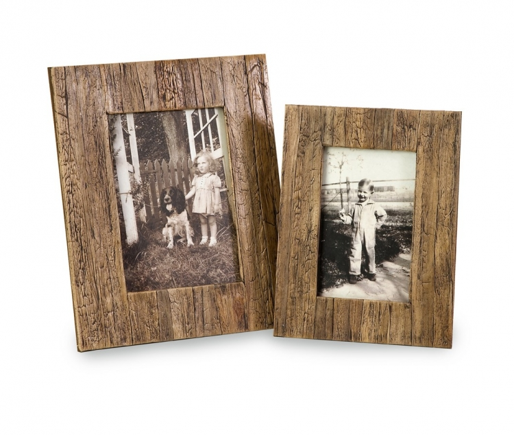 Havana 4x6 and 5x7 Frames - Set of 2
