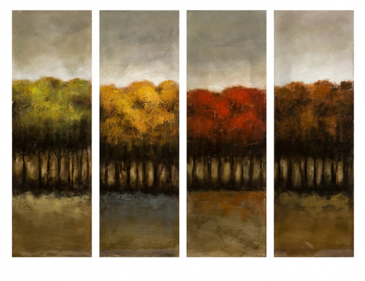 The Four Seasons Four Canvas Oil Painting - IMAX
