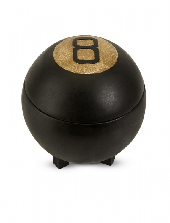 Eight Ball Lidded Box - IMAX