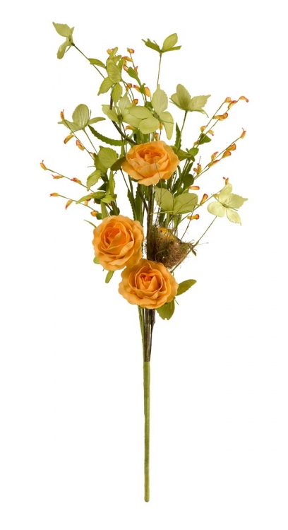 Enchanted Butterfly Yellow Rose Bundle - IMAX
