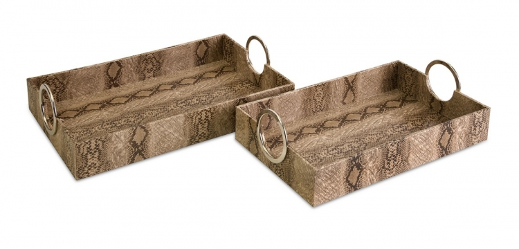 Castel Trays - Set of 2