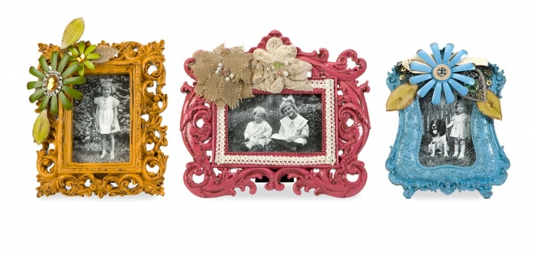 Abbbott Embellished Photo Frames - Set of 3 - IMAX