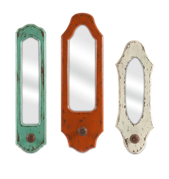 Gaylynn Mirror with Hanger - Set of 3