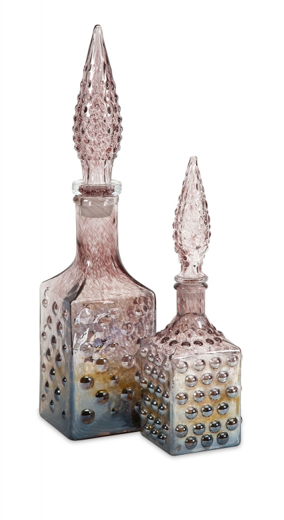 Barcelonia Bottles with Stopper - Set of 2