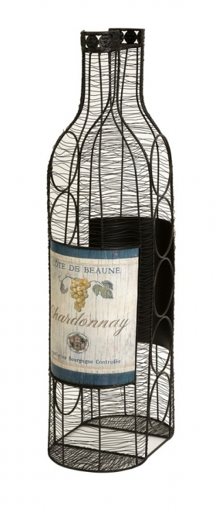 Moreau Wine Bottle Holder - IMAX