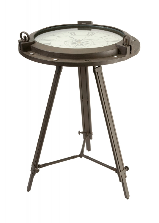 Tripod Clock Table