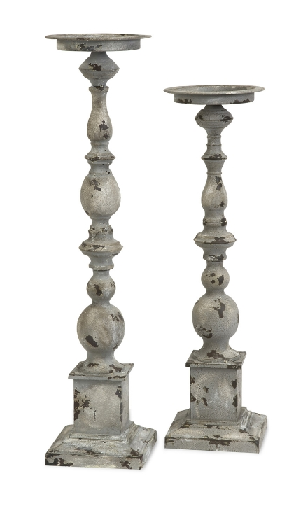 Hamilton Candle Holders - Set of 2