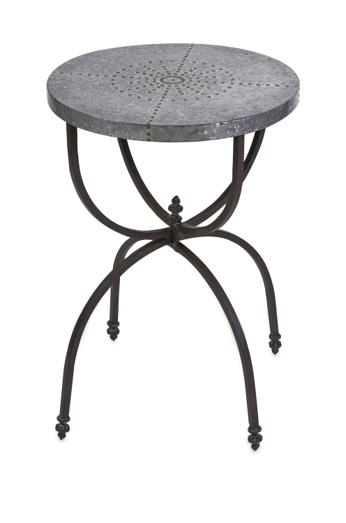 Gilbert Galvanized Occasional Table - IMAX