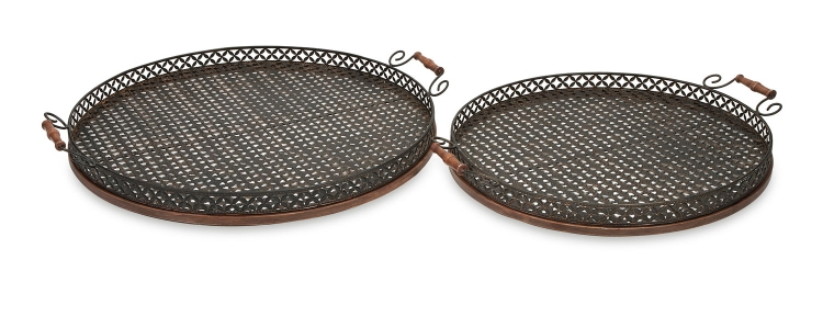 Regency Oversized Trays - Set of 2