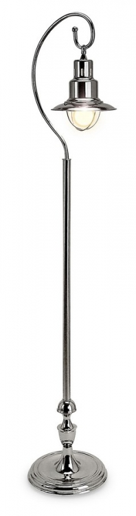 Nickel Station Floor Lamp - IMAX