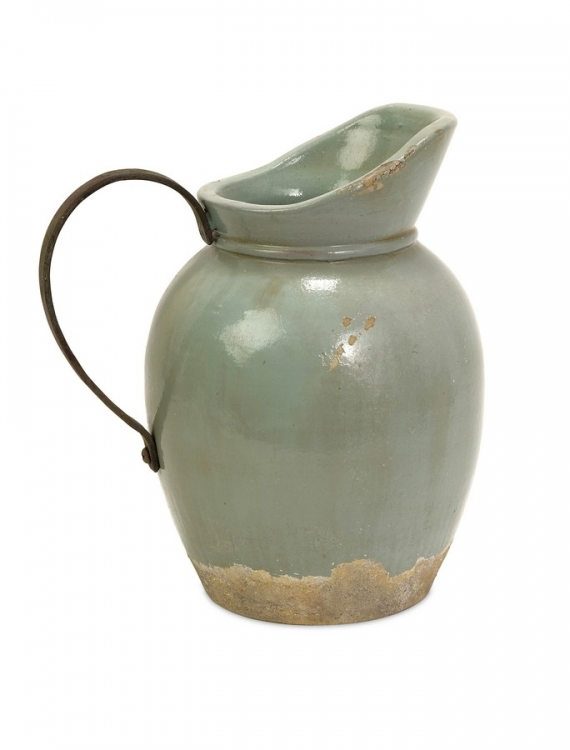 Calista Small Pitcher W/ Metal Handle