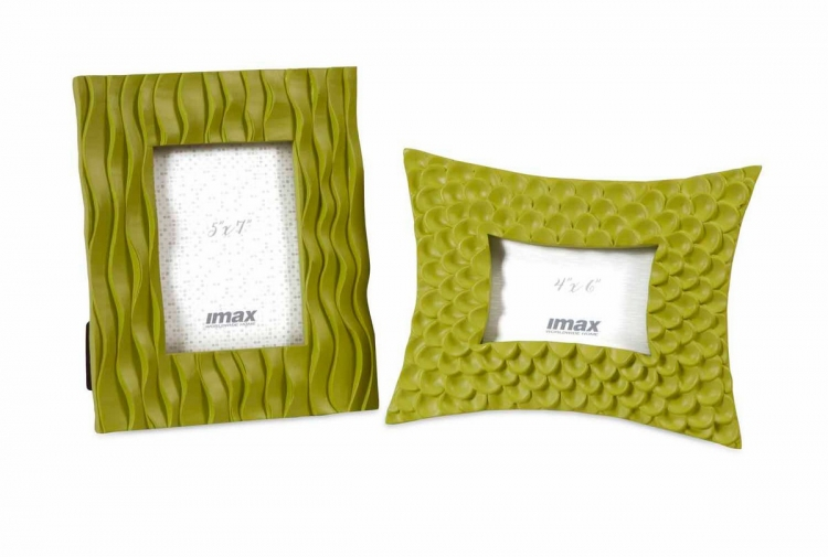 Essentials Green Frames - Set of 2