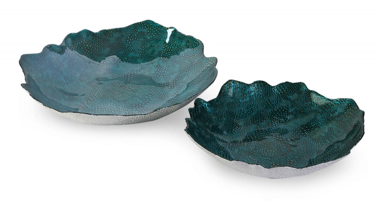 Belcove Glass Bowls - Set of 2