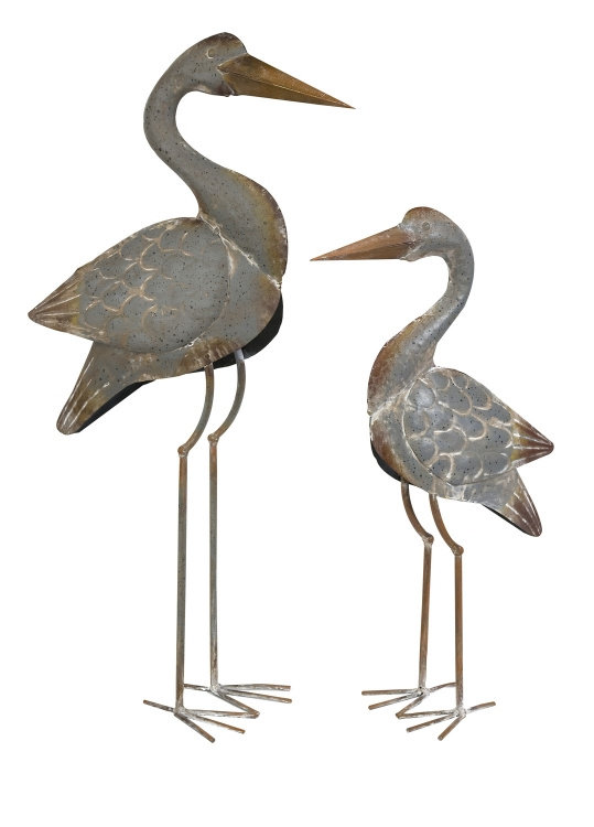 Fairfax Metal Cranes - Set of 2 - IMAX