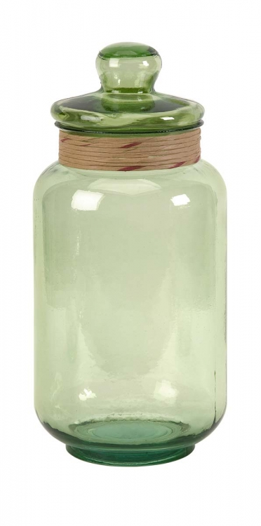 Sanzio Large Recycled Glass Canister
