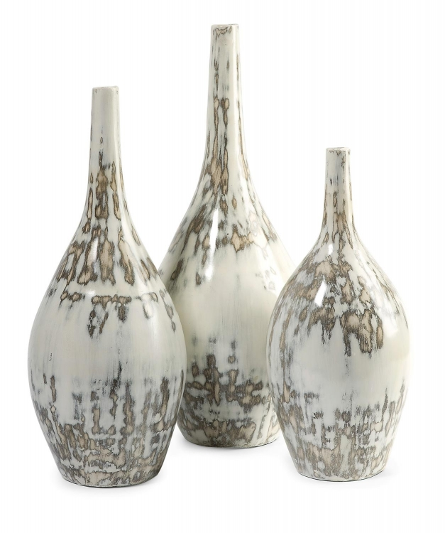 Hampton Mexican Pottery Vases - Set of 3