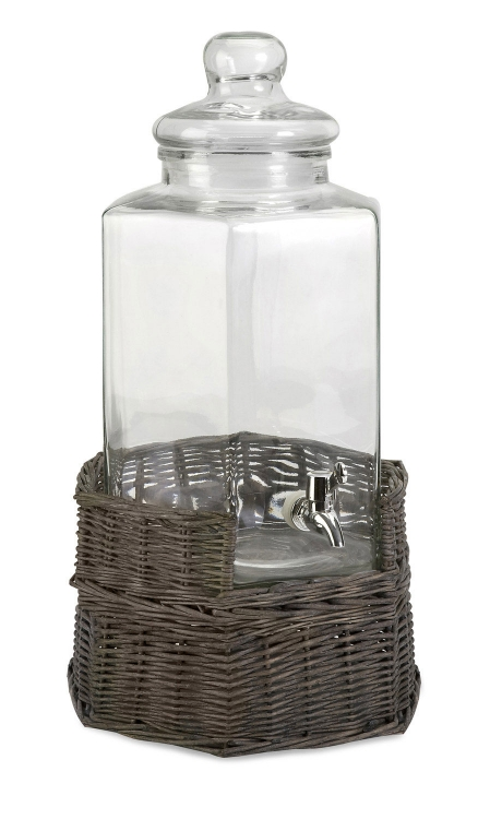 Olivia Beverage Dispenser with Willow Base