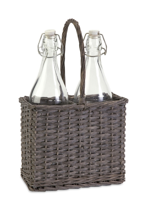 Olivia Two-Bottle Caddy - IMAX