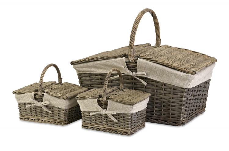 Olivia Picnic Baskets - Set of 3