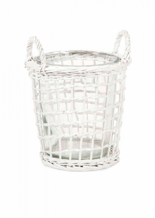 Tilton Large Wicker Candle Lantern