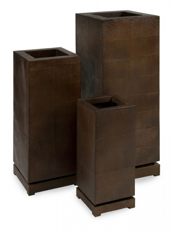 CK - Tall 5th Avenue Planters - Set of 3