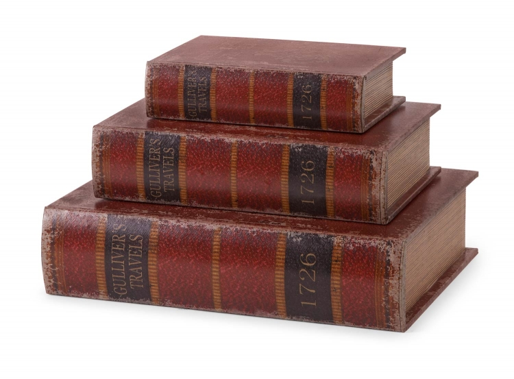 Gulliver'S Book Boxes - Set of 3