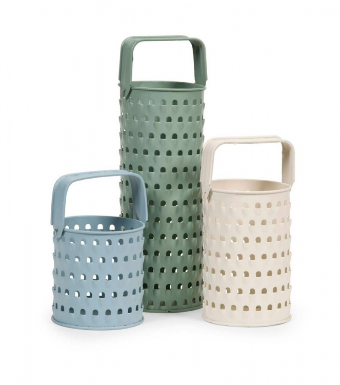 Ella Elaine - Grater Candle Holders - Set of 3
