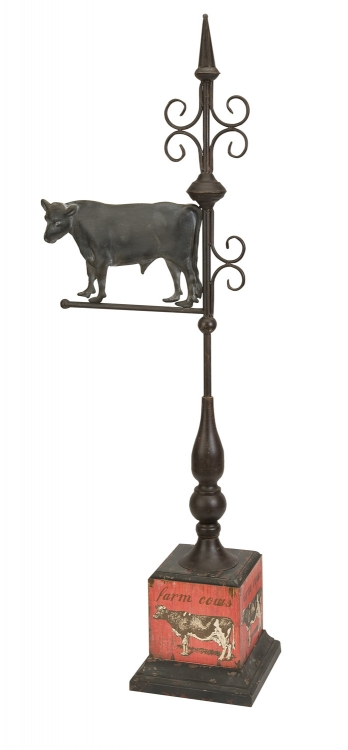 Finial with Cow - IMAX