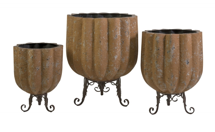 Bowman Planters - Set of 3 - IMAX