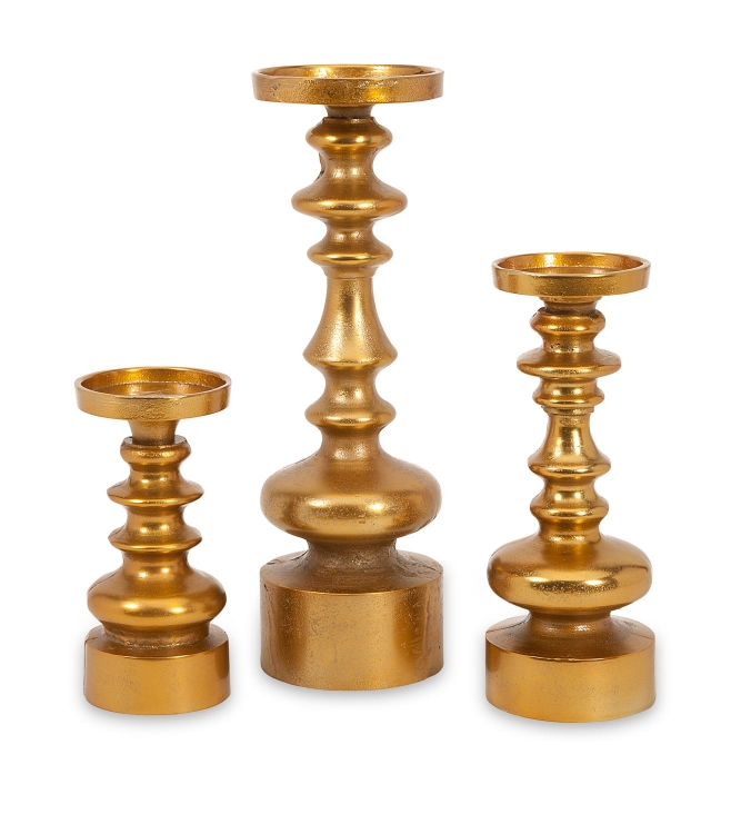 Karenza Candleholders - Set of 3
