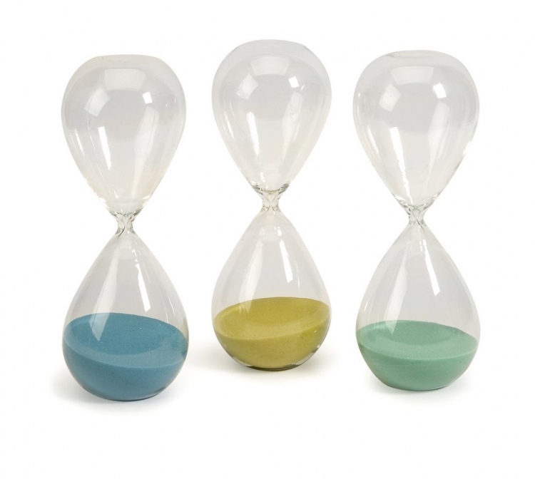 Paroles Large Hourglass - Set of 3 - IMAX