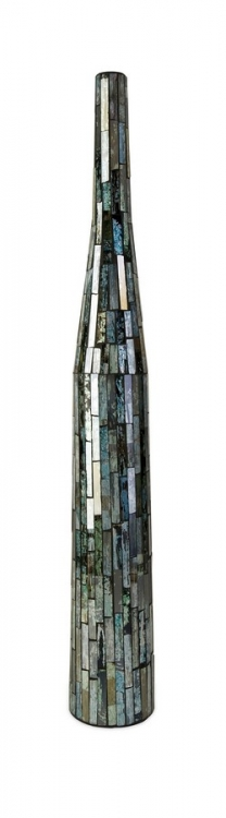 Aramis Medium Mosaic Glass Bottle - IMAX