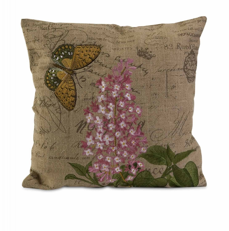 Cabrera Embroidered Accent Pillow - IMAX
