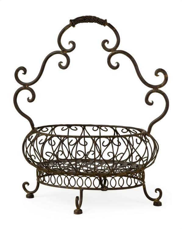 Filigree Basket - IMAX