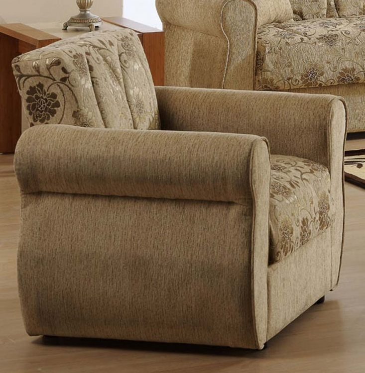 Melody Chair - Yasemin Beige - Istikbal - Sunset