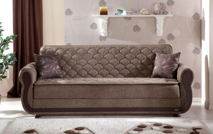Argos Sleeper Sofa - Terapy Light Brown - Istikbal - Sunset