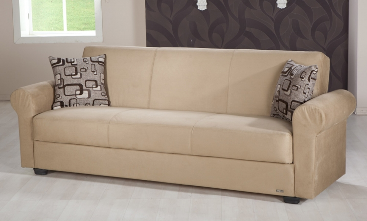 Elita Sleeper Sofa - Rainbow Dark Beige - Istikbal - Sunset