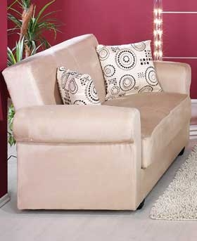 Elita Loveseat - Rainbow Beige - Istikbal - Sunset