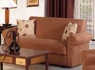 Elita Loveseat - Rainbow Brown - Istikbal - Sunset
