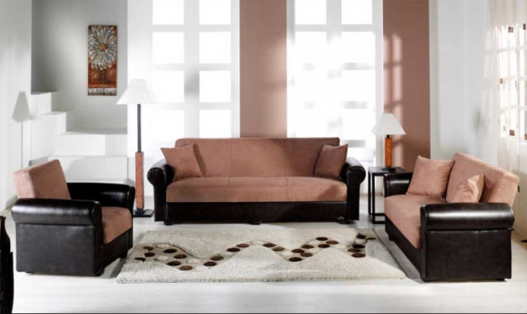 Enea Sofa Collection - Rainbow Truffle - Istikbal - Sunset