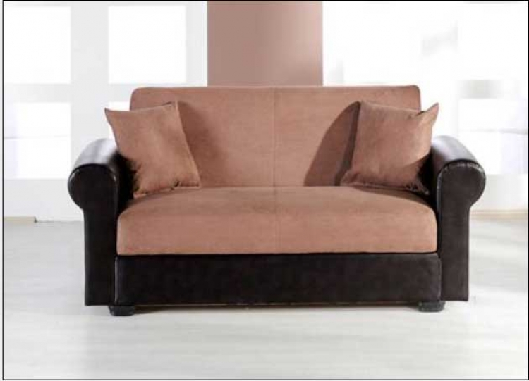 Enea Love Seat - Rainbow Truffle - Istikbal - Sunset