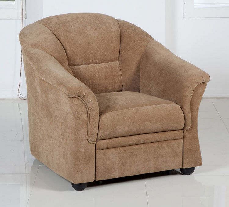 Fantasy (Palmera) Arm Chair - Soft Brown - Istikbal - Sunset
