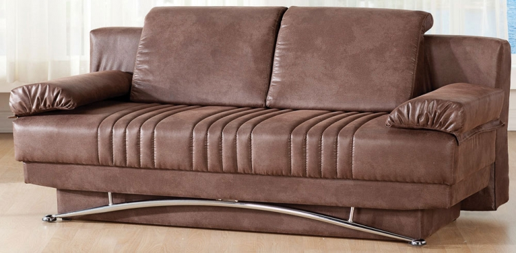 Fantasy Sleeper Sofa - Silverado Chocolate - Istikbal - Sunset