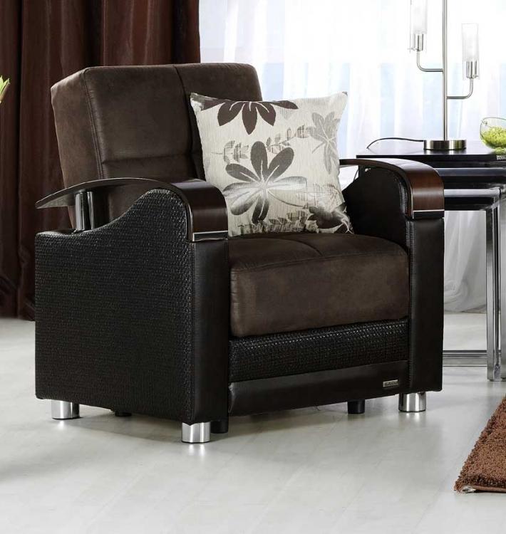 Luna Chair - Chocolate