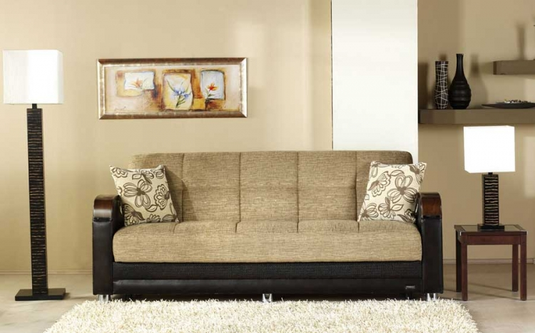Luna Sofa - Fulya Brown - Istikbal - Sunset