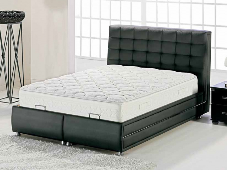 Marsilya Bed - Escudo Black - Istikbal - Sunset