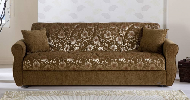 Melody Sleeper Sofa - Yasemin Green - Istikbal - Sunset