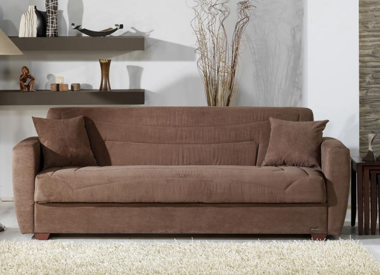 Miami Sleeper Sofa - Obsession Truffle - Istikbal - Sunset